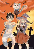Edens Zero- Happy Halloween by Perfectionxanime