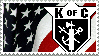 Knights of Columbus Stamp by solocommand