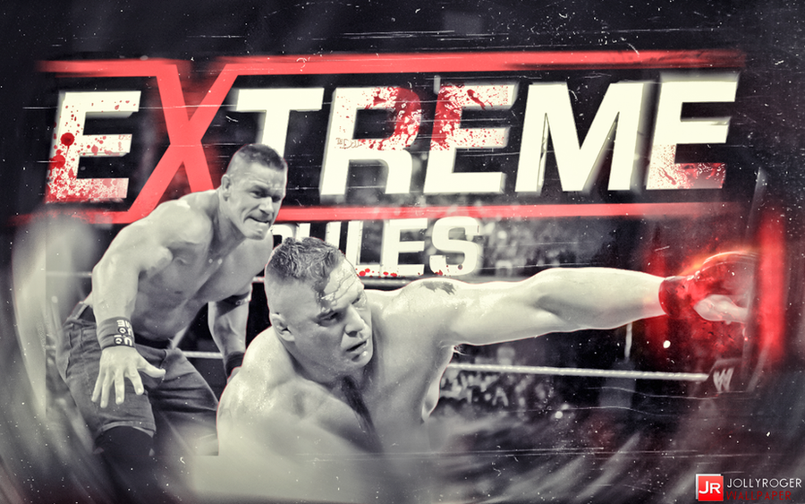 Brock Lesnar and John Cena on Extreme Rules WP by briorey ...