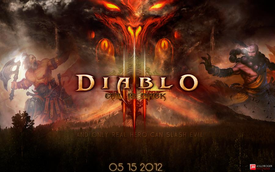 Diablo III Wallpaper by briorey