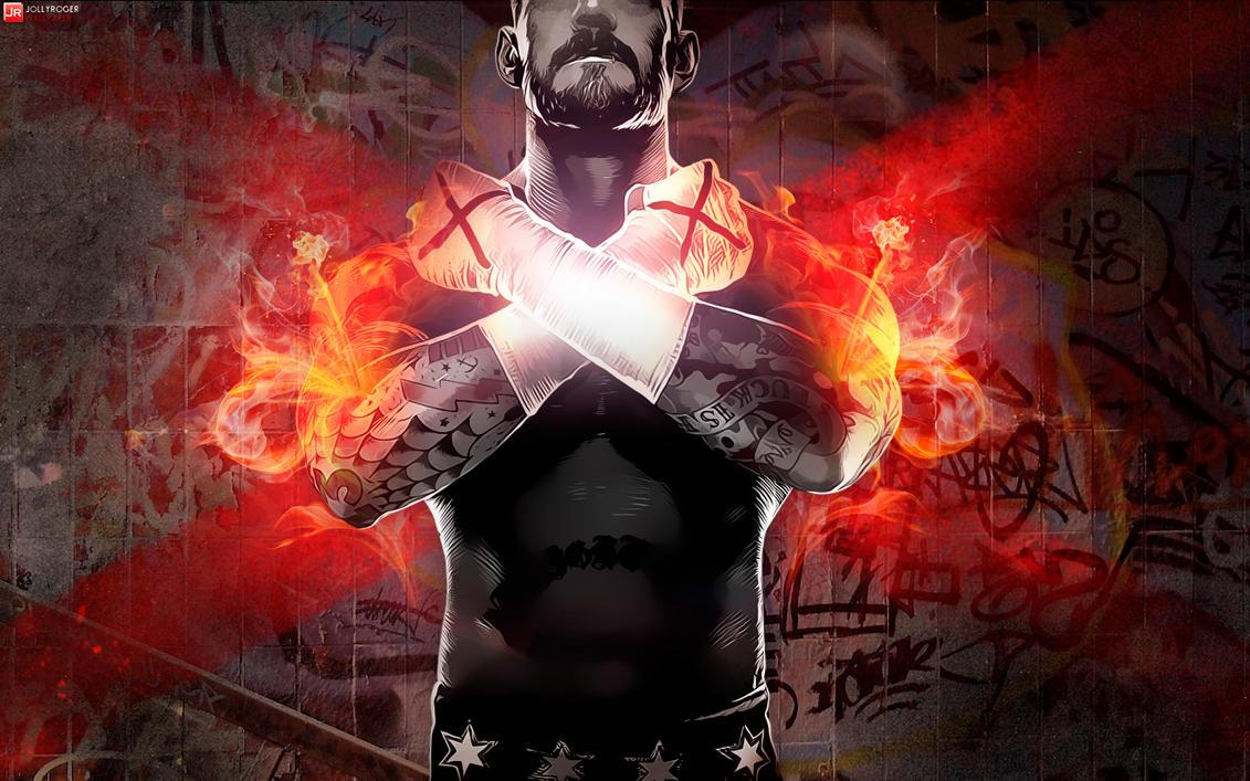 WWE `13 REVOLUTION With CM Punk Wallpaper By Briorey On