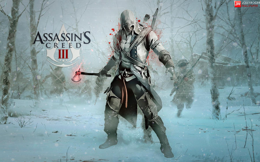 Assassins Creed Iii Wallpaper Feat Connor By Briorey On Deviantart
