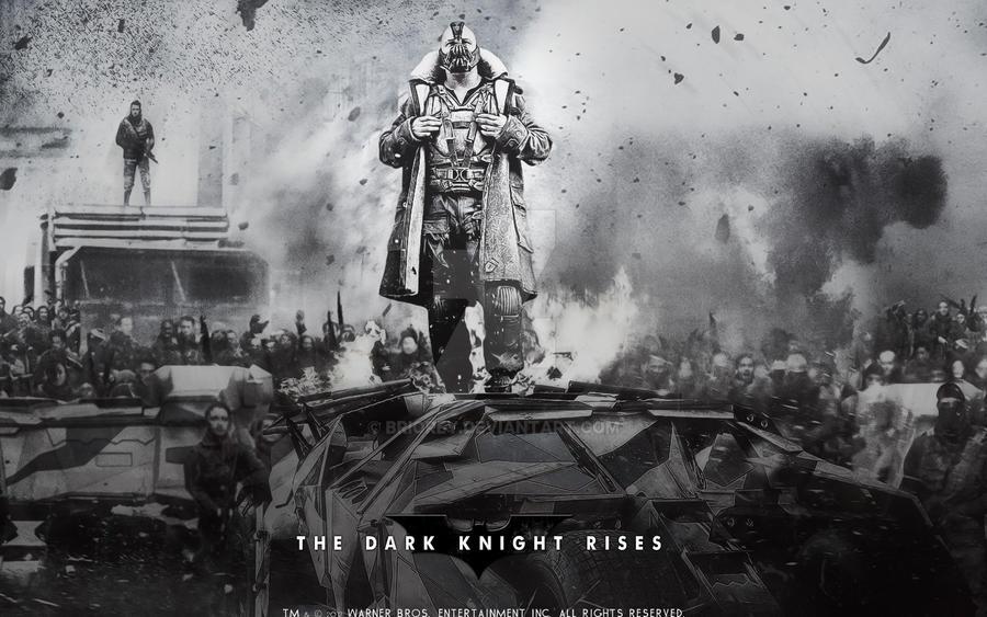 Dark Knight Rises BANE Wallpaper By Briorey