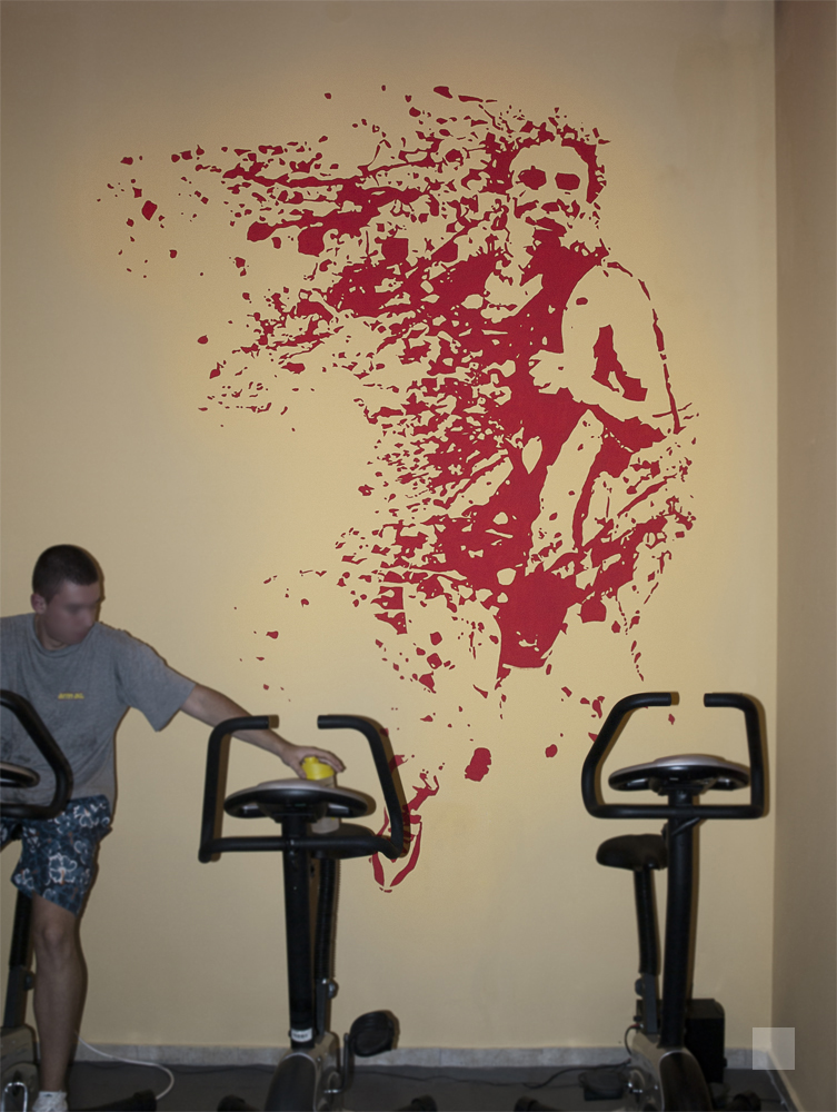 Fitness Wall By Cranium82