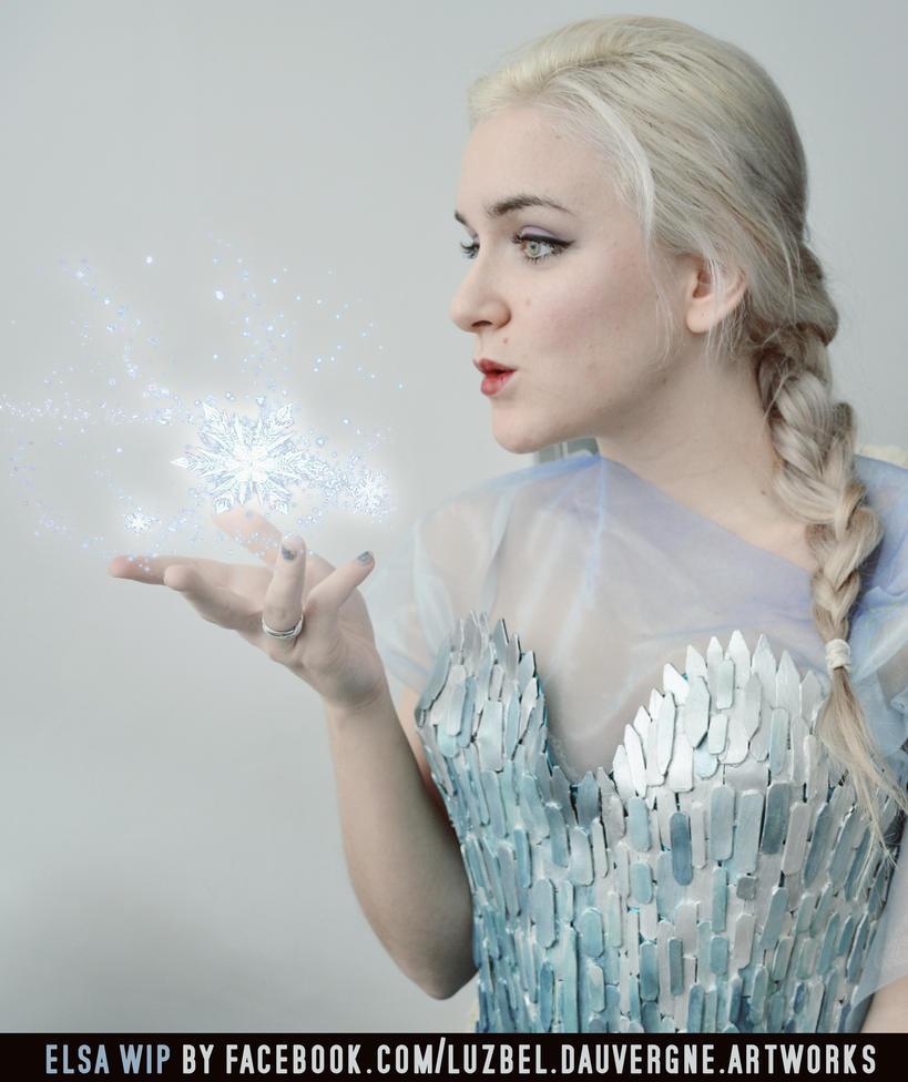 Work In Progress: Elsa from Frozen by LuzbeldAuvergne