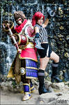 Katarina and Wukong cosplay (League of Legends)