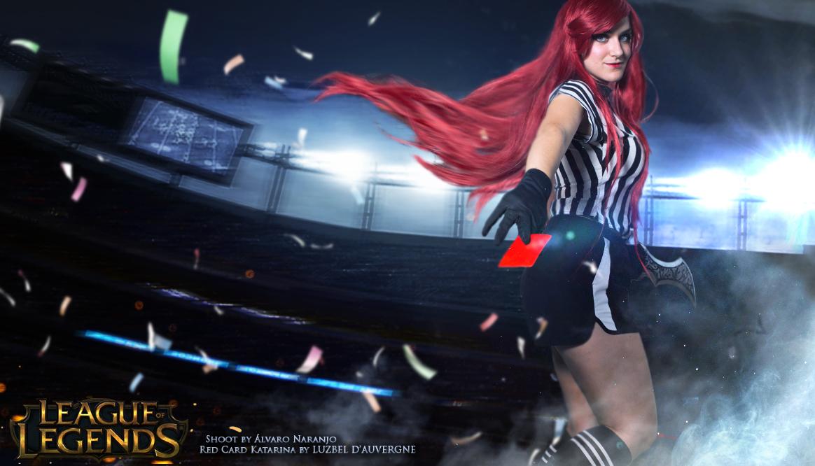 Red Card Katarina cosplay by Luzbel d'Auvergne by LuzbeldAuvergne