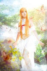 Asuna Titania (from SAO - Alfheim Online) cosplay