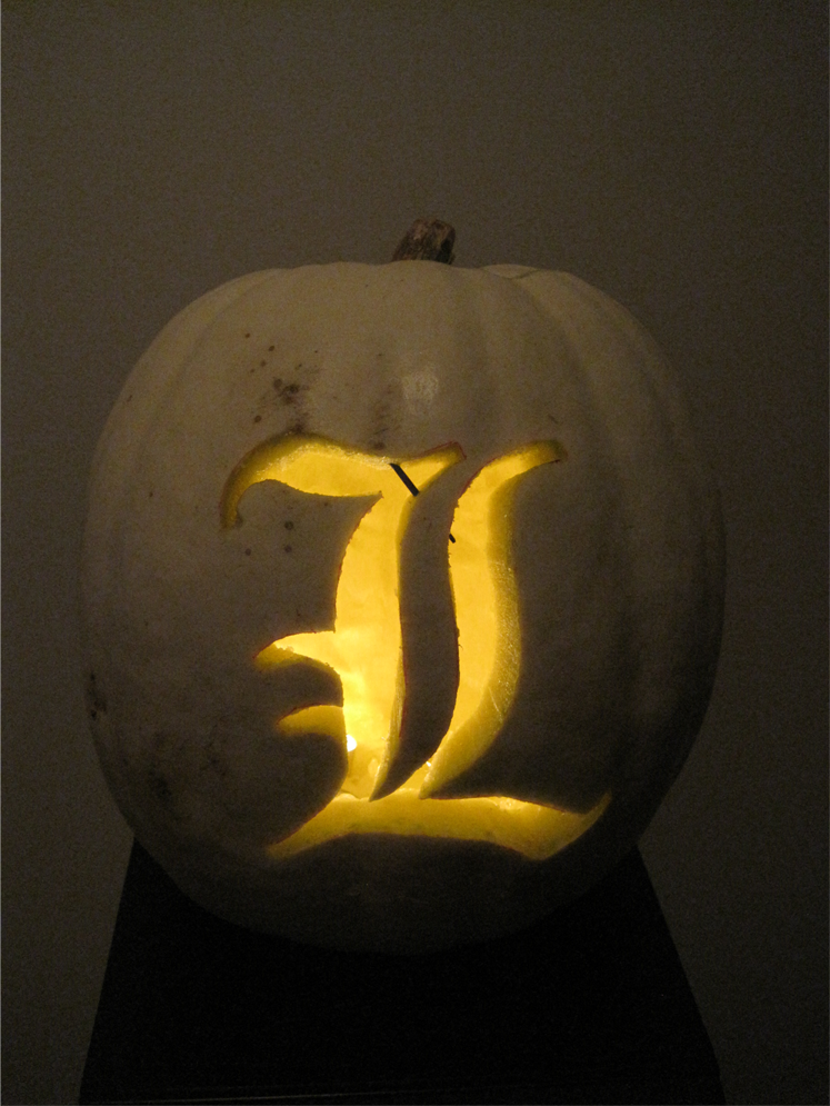 L Pumpkin Carving by Leustante