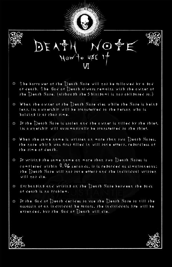 Page 6: DEATH NOTE by Leustante on DeviantArt