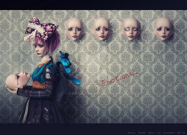 Emotions? by saikoxix