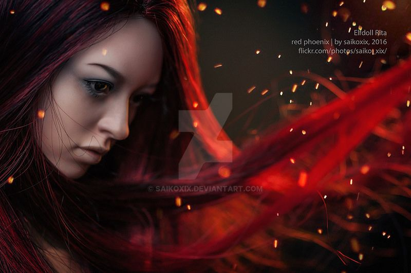 madam_red_phoenix by saikoxix