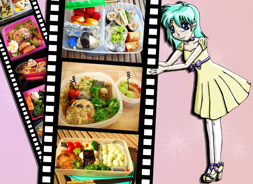 Pick of the bentos so far by Miragehedgehog