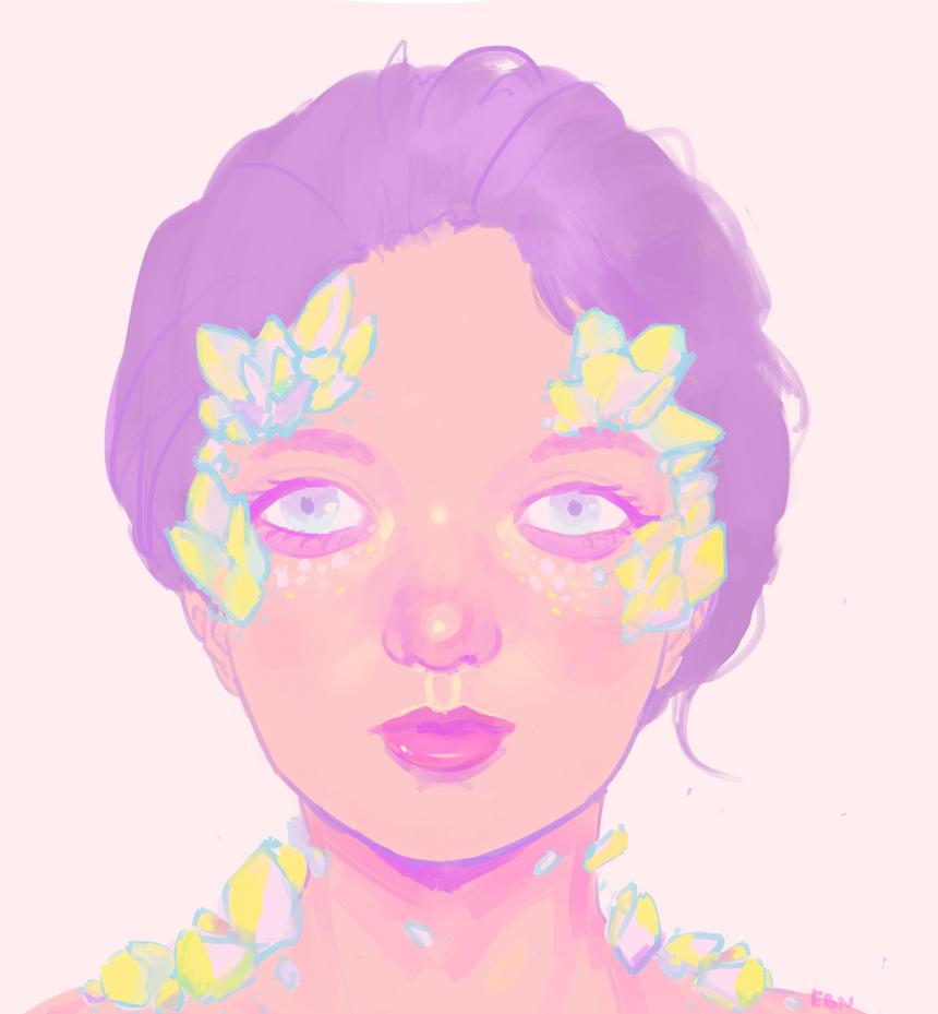 crystal faerie by eunicorndog