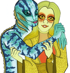 Nuala and Abe by Comicgirl20
