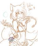 Ahri Foxfire (WIP)