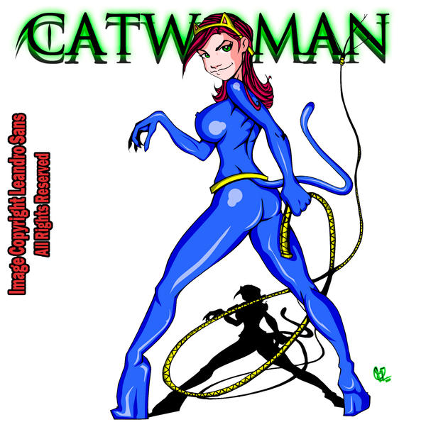 CatWoman by LeandroSans