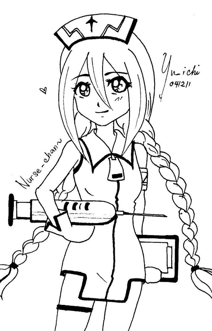 nurse-chan by TsukiYuIchi
