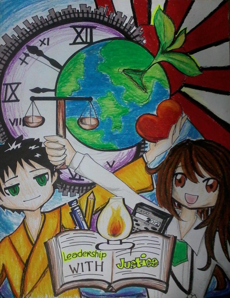 our SUMARAI poster by TsukiYuIchi