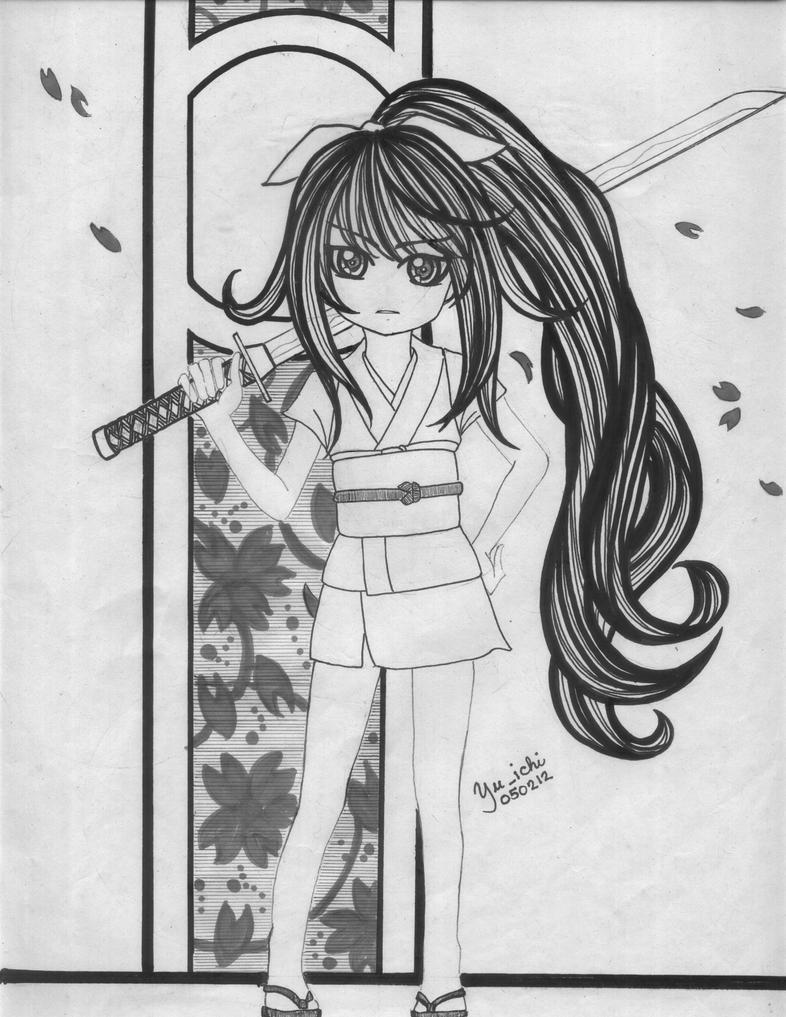 samurai days by TsukiYuIchi