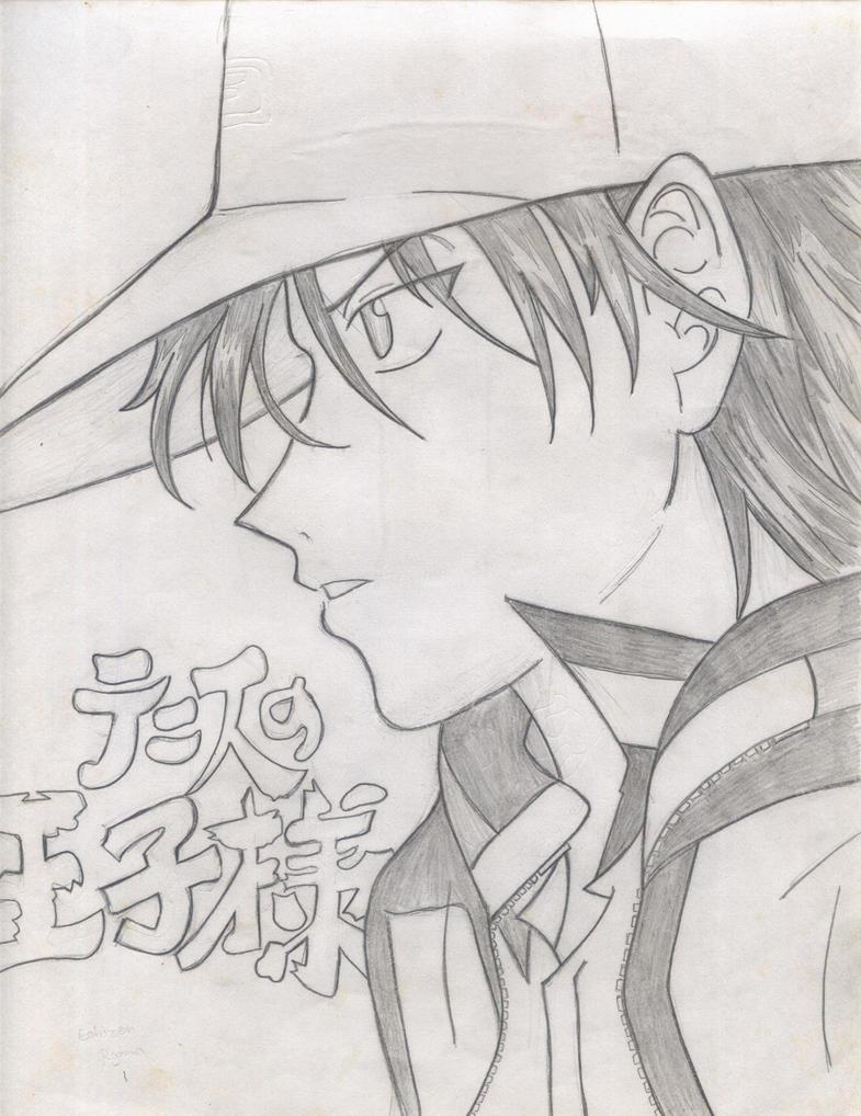 echizen sketch by TsukiYuIchi