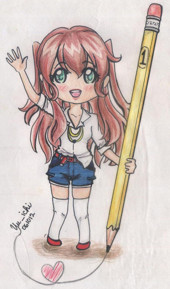 Moe-Moeka draw by TsukiYuIchi