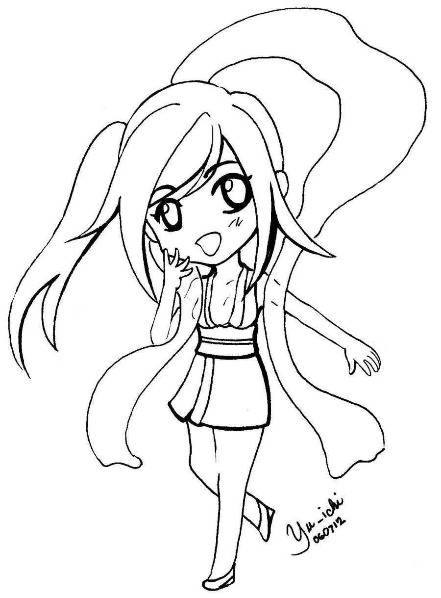 cute shinigami-chan by TsukiYuIchi