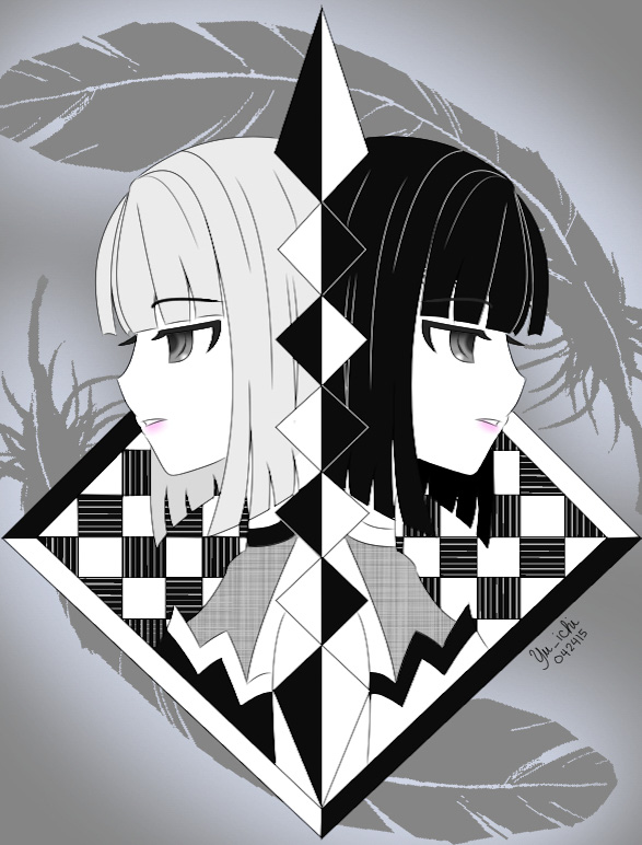 Black and White by TsukiYuIchi