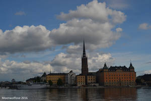 Clouds over Stockholm by Moonwolflove