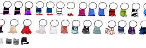 Dresses - Sprite Clothing by WardenofLife