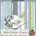 juno Misty Provence Papers: Free Digital Kit