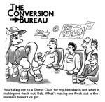 TCB Cartoon: Dress Club