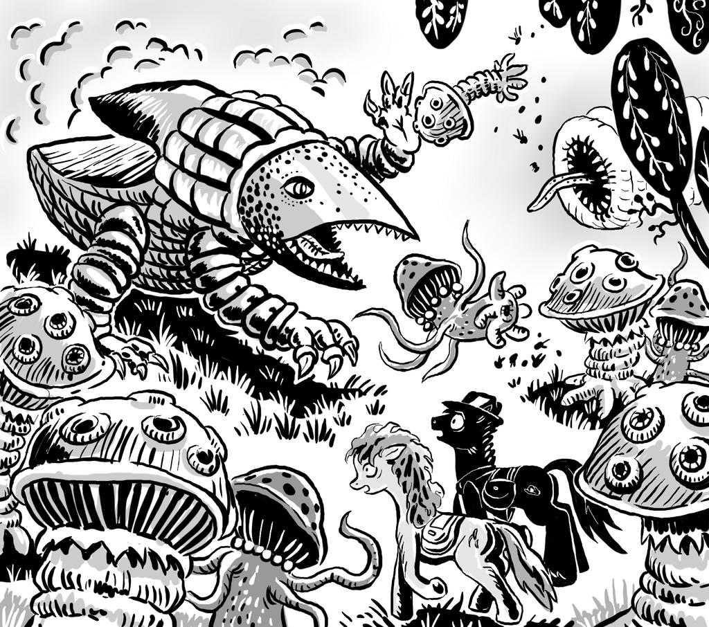 14 pcs Prehistoric Animals by Aealacreatrananda