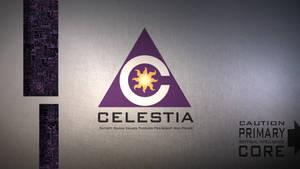 celestAI metal logo by Aealacreatrananda