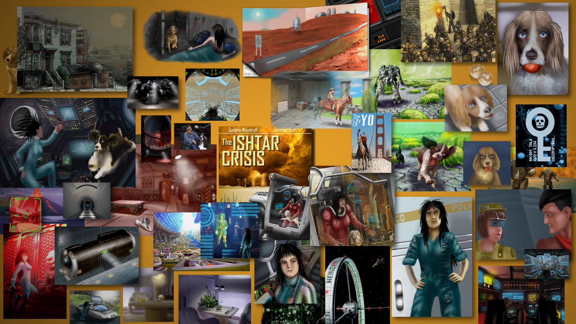 Ishtar Crisis Desktop by Aealacreatrananda