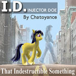 ID Cover Original cover for my novel on Fimfiction