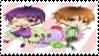 kradness and Reol Stamp by sakurako39