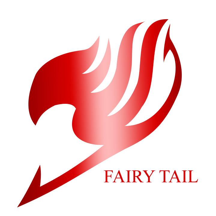 Fairy Tail Logo Red Fairy Tail Logo by