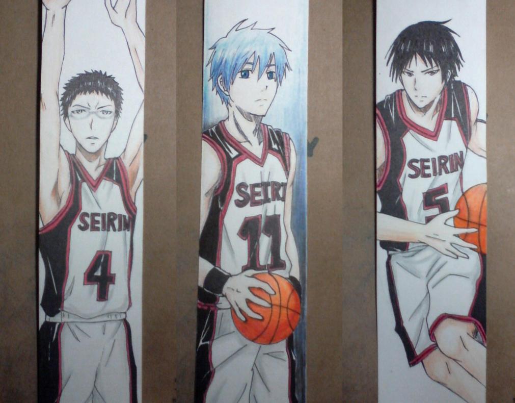 Kuroko no Basket Bookmarks by xxDevilsAngel28xx