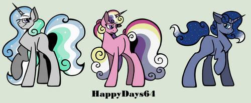 The Princesses X The Pillars Custom Set (1/6) by HappyDays64