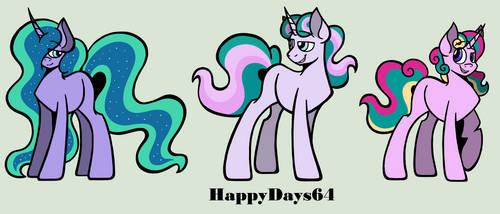 The Princesses X The Pillars Custom Set (2/6) by HappyDays64