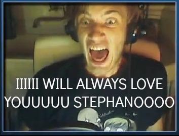 I love PewDiePie by Dailuge