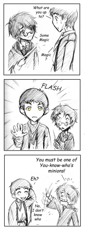 Merlin meets Harry Potter by Ta-moe