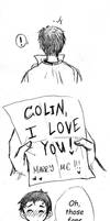 Colin and his fanmail - part 1