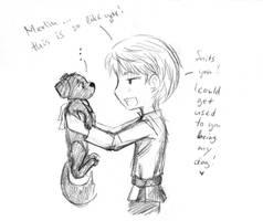 Merlin puppy by Ta-moe
