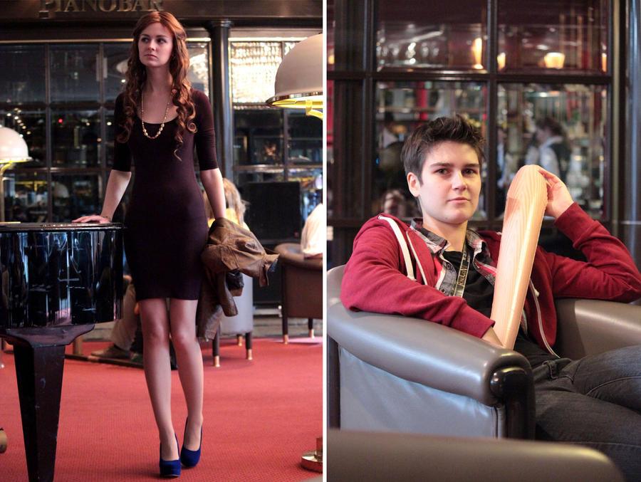 Lydia Martin and Stiles Stilinski by Ta-moe