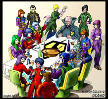 Zentraedi's party by Ameban