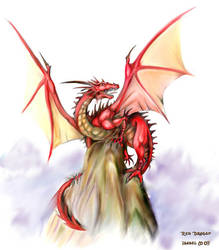 Red Dragon by Ameban