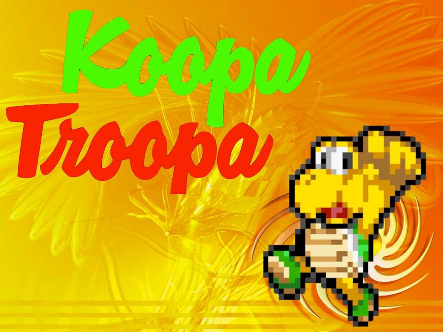 Koopa Troopa Wallpaper by babyluigi957
