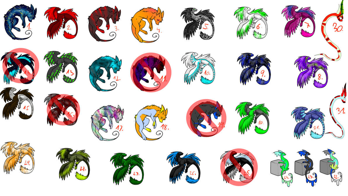 Adopts [10 Points][Open] by Morgana-Mikaelson